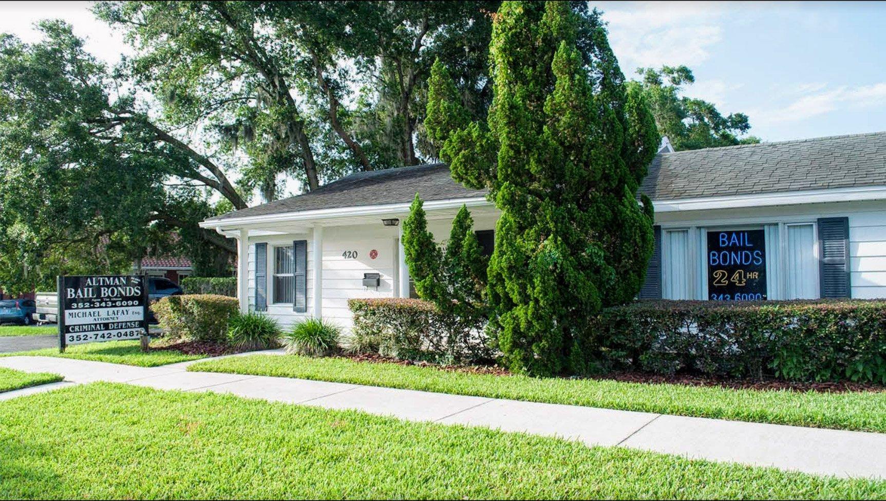 ALTMAN BAIL BONDS Office Location inTavares, FL